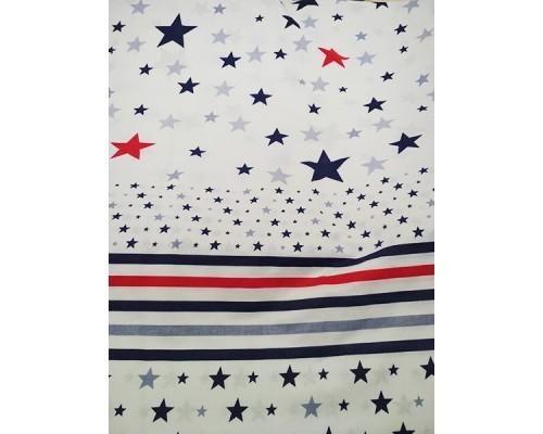 Постельная ткань со звёздами